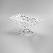 Fruteira De Cristal Com Pé 37,5 Cm Frozen Lyor - 3173