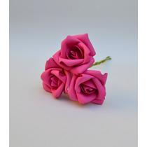 Rosas Artificiais - 100 Rosas Pink - Flor Artificial