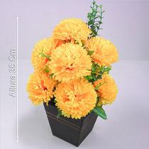 Arranjo Crisântemo Diversas Cores 35 Cm - Flores Artificiais
