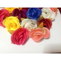 Botões De Rosas Artificiais 30 Unidades Escolha As Cores
