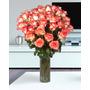 Rosas Colombianas Bicolor Rosado - Flores Naturais