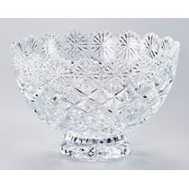 4x Fruteiras De Cristal 20,2cm Diamond L 4x 3324