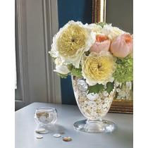 Vasos Para Decoração Com Plantas E Artigos Artificiais 2 Pç