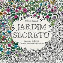 Jardim Secreto + Arte Como Terapia + Lápis De Cor 48 Cores