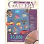 Livro Corel Draw Gallery 10000 Clip Artes Sem Cd 350 Páginas