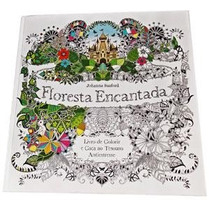 Livro Floresta Encantada - Livro De Colorir E Antiestresse