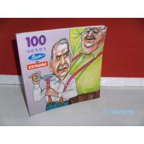 Livro 100 Vezes Ique No Estadão Caricaturas E Desenhos -1997