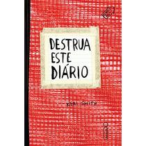 Livro Destrua Este Diario (capa Vermelha)
