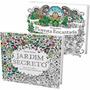 Kit Jardim Secreto + Floresta Encantada