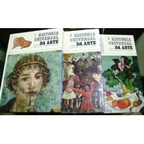 História Universal Da Arte 3 Vol. Mirador Internacional