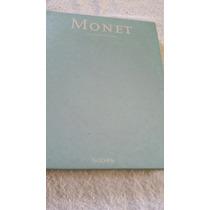 Livro Da Vida E Obra De Claude Monet.220 Páginas. Capa Dura
