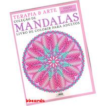 Livro Colorir Terapia & Arte Mandalas Edição Antiestresse
