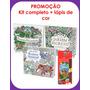 Kit Livros Jardim Secreto, Floresta Encantada, Reino Animal