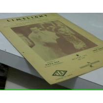 Partitura - Limelight - Charles Chaplin/joão De Barro - Pian