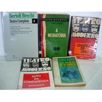 Lote / Pacote 5 Livros Peças De Teatro
