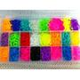 Rainbow Loom - Kit Refil 5000 Elásticos + Caixa Organizadora