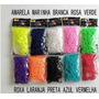 Kit 6000 Elásticos +250 Fechos + 40 Pingentes - Rainbow Loom
