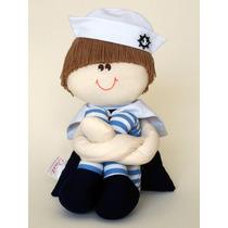 Boneco De Pano Marinheiro Pequeno