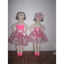 Boneca De Pano Bailarina