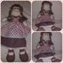 Bonecas De Pano (boneca Pêra)