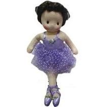 Boneca De Pano Bailarina A Corda Musical Decoração Linda Lil