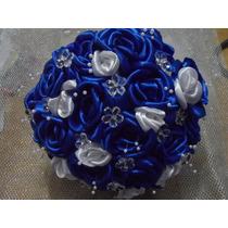 Buquê De Noiva Casamento, Tecido Flores