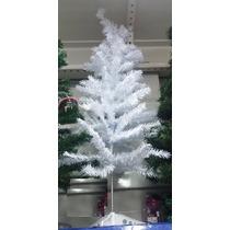 Árvore De Natal Pinheiro Branco/verde 1,20m Promoção!!!