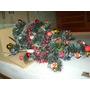 Árvore Natal Completa Enfeite Luzes Pisca-pisca Desmontável