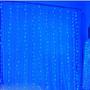 Cortina De Leds 2,0 X 2,0mts Azul Claro 110v