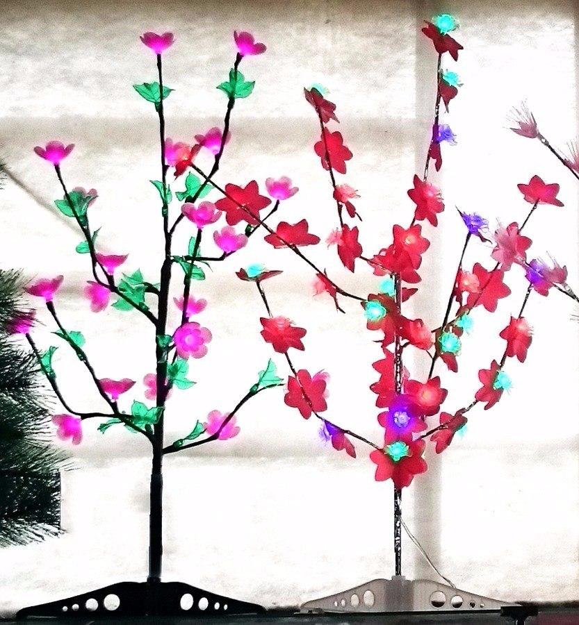 decoracao para lampadas : decoracao para lampadas:Árvore De Natal 40 Lâmpadas Luminária Decoração – R$ 55,90 no