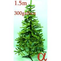 Árvore De Natal Verde Canadense 1,50m 300g.+brinde.lj Alfa.