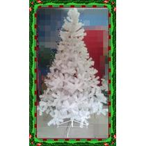 Arvore De Natal 2,10 Branca 500 Galhos Promoção + Brinde