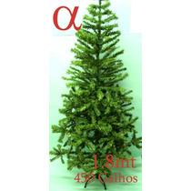 Árvore De Natal Verde Canadense 1,8m 450g.+brinde.lj Alfa.