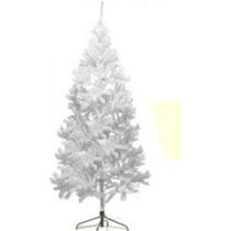 Árvore De Natal Branca 2,10 Pinheiro Canadense 600 Galhos