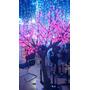 Árvore De Natal Led 1,80m Pisca Cerejeira Grande Pink