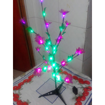 Arvore De Natal Led Com 8 Funcao De Pisca 2 Modelos