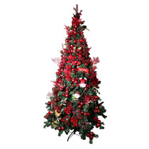 Árvore De Natal Pinheiro Suiço 2,10m Com 860 Galhos, Verde