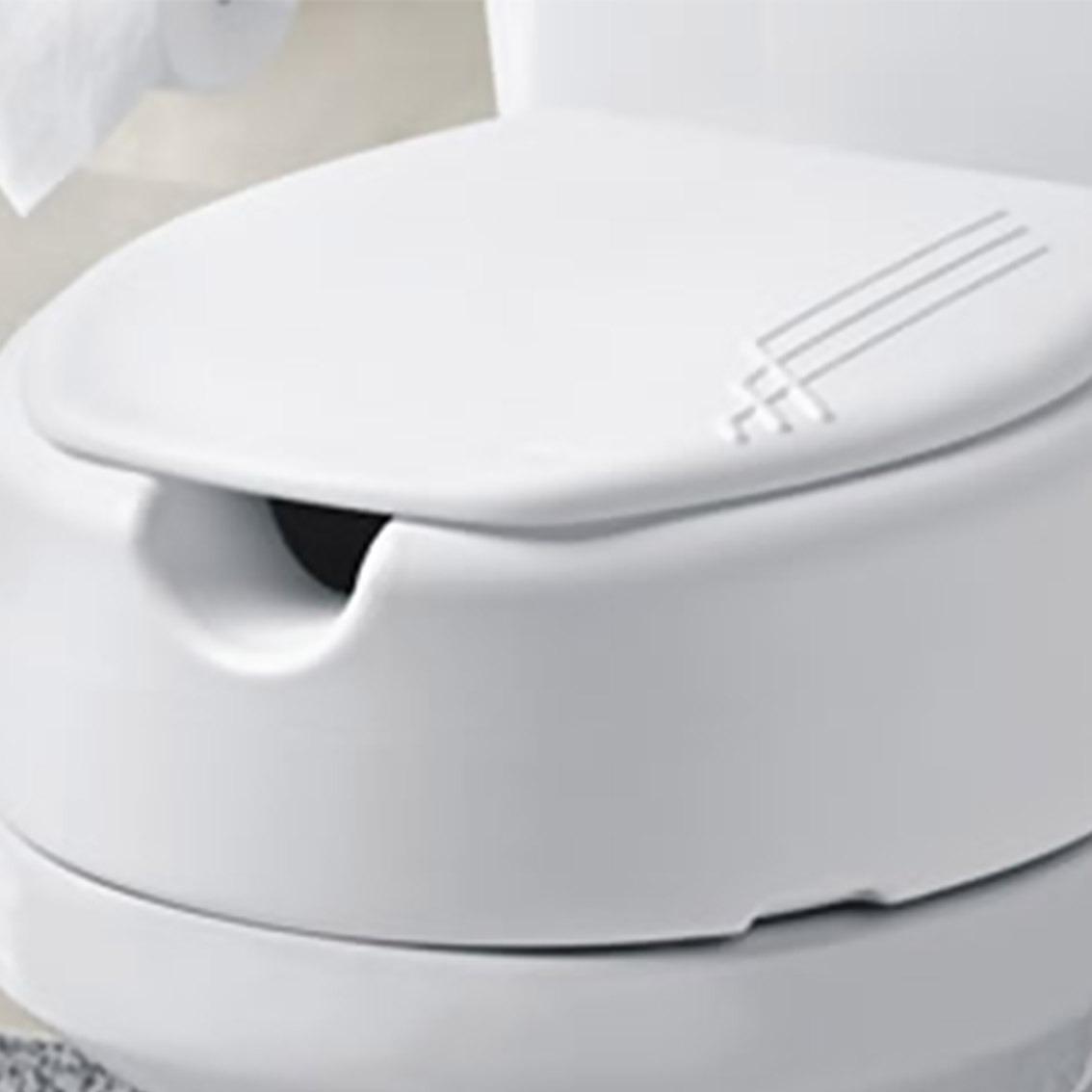 Assento Sanitário Elevado E Tampa Para Idosos E Deficientes R$ 89  #70695B 1134x1134 Assento De Banheiro Para Deficiente
