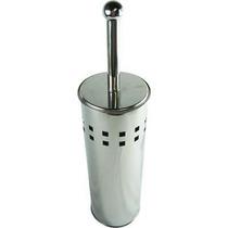 Escova Sanitária Para Banheiro Suporte Inox Quadrados