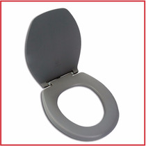 Assento Sanitário Plástico Cinza / Tampa Bacia Vaso Banheiro