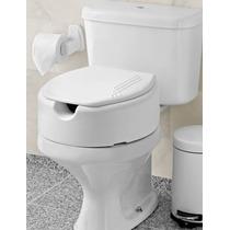 Assento Sanitário Elevado De 7,5cm P/ Idosos E Deficientes