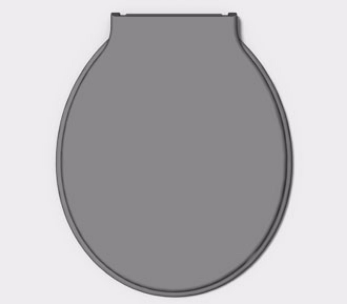 Assento Sanitário Plástico Cinza / Tampa Bacia Vaso Banheiro R$ 19  #685D6E 1200x1051 Assento De Banheiro Para Idoso