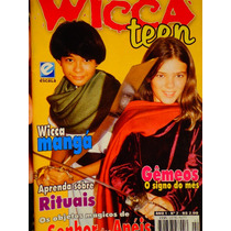 Revista Wicca Teen 2 Eddie Van Feu Magia Bruxa Ritual Dicas