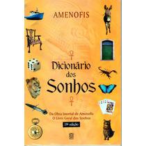 Livro Dicionário Dos Sonhos - Amenofis