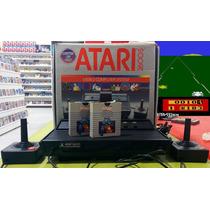 Atari 2600s Com Caixa E Manual - Para Colecionadores