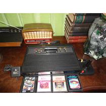 Atari2600+4fitas+1contro+rf.pio-agni Games
