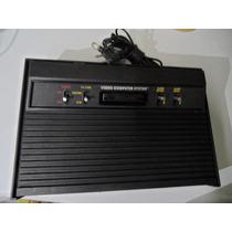 Atari 2600 Completo Original + 4 Jogo E 2 Controles