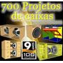 700projetos De Caixas De Som - Line - Tree Way - Amplificada
