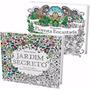 2 Livros: Jardim Secreto + Floresta Encantada - Frete Grátis