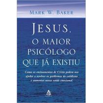 Jesus, O Maior Psicólogo Que Já Existiu Livro Frete 8 Reais